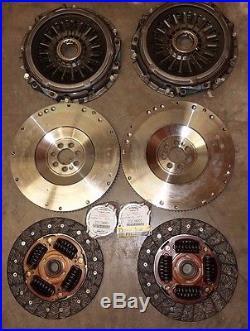 2- Mitsubishi Lancer Evo X 4B11 Clutch P-Plate Flywheel Release Bearing Kit OEM