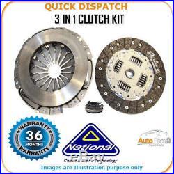 3 In 1 Clutch Kit For Fiat Punto Evo Ck9910