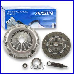 AISIN Clutch Kit for 1981-1985 Toyota Celica 2.4L L4 Friction Plate sp