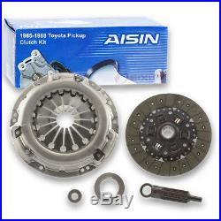 AISIN Clutch Kit for 1985-1988 Toyota Pickup 2.4L L4 Friction Plate xp