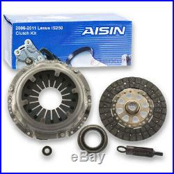 AISIN Clutch Kit for 2006-2011 Lexus IS250 2.5L V6 Friction Plate Release xj