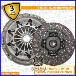 BMW 520i 2.2 LuK 3 Piece Clutch Kit + Bearing 170 09/00-01/03 Estate M54 B22 E39