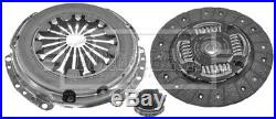 Clutch Kit 3pc (Cover+Plate+Releaser) HK2065 Borg & Beck 21207561754 7542691 New