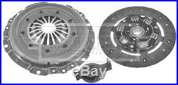Clutch Kit 3pc (Cover+Plate+Releaser) HK2090 Borg & Beck 205306 55194026 Quality