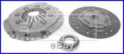 Clutch Kit 3pc (Cover+Plate+Releaser) HK7547 Borg & Beck Top Quality Replacement