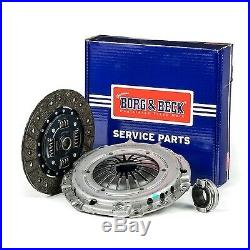 Clutch Kit 3pc (Cover+Plate+Releaser) HK7849 Borg & Beck Top Quality Replacement
