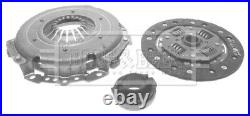 Clutch Kit 3pc (Cover+Plate+Releaser) fits FORD CAPRI Mk2 1.6 74 to 77 B&B New