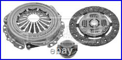 Clutch Kit 3pc (Cover+Plate+Releaser) fits FORD CORTINA Mk3 Mk4 1.6 70 to 79 B&B