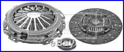 Clutch Kit 3pc (Cover+Plate+Releaser) fits NISSAN NAVARA D40 2.5D 05 to 10 B&B