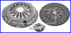 Clutch Kit 3pc (Cover+Plate+Releaser) fits TOYOTA RAV-4 ACA2 2.0 00 to 05 1AZ-FE