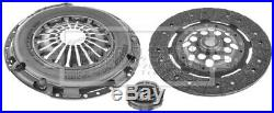 Clutch Kit 3pc (Cover+Plate+Releaser) fits VOLKSWAGEN GOLF 1J 1.8 99 to 02 B&B