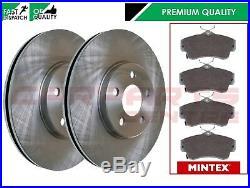 FOR CHRYSLER PT CRUISER 2.2 D 2000-2004 FRONT BRAKE DISCS 280mm MINTEX PADS