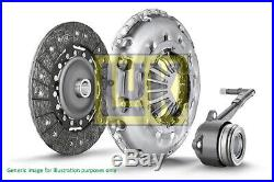 FORD MONDEO Mk4 1.6D Clutch Kit 3pc (Cover+Plate+CSC) 10 to 15 240mm LuK Quality