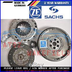 For Seat Leon 1.6 Tdi 1p1 Genuine Sachs Zms Dual Mass Flywheel Clutch Kit 10-12