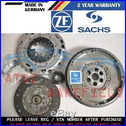 For Vw Golf Mk6 1.6 Tdi Genuine Sachs Zms Dual Mass Flywheel Clutch Kit 09-13