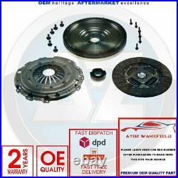 For Vw Passat 1.9 Tdi 2.0 Tdi Singlemass Flywheel Clutch Kit Inc Release Bearing