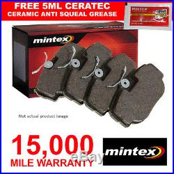 Front Mintex Brake Pads Set For LDV Maxus Bus Platform/chassis Van 2.5 D (05-09)