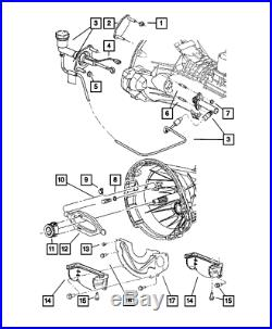 Genuine Mopar Clutch Release Bearing 53008342