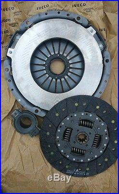 IVECO DAILY 3.0D Clutch Kit 3pc with Cover, Plate, Release Bearing 2007 on LuK New