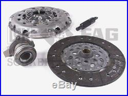 Saab 9-3 (6pd) Clutch KIT Disc Plate Bearing +Slave LUK pressure release