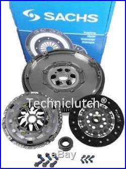 Sachs Dmf Dual Mass Flywheel And Clutch For Vw Volkswagen Golf V 1.9tdi