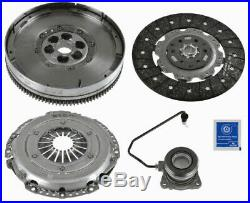 VAUXHALL INSIGNIA A 2.0D Dual Mass Flywheel DMF Kit with Clutch 08 to 14 Sachs