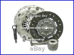 VW 2.0L (06-09) Clutch KIT + Slave Cylinder OEM disc + plate + release bearing